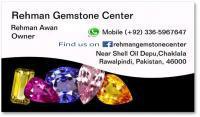 Rehman gemstone, rawalpindi