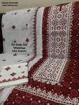 Sindhi Culture Ajrak Dress Design, Karachi