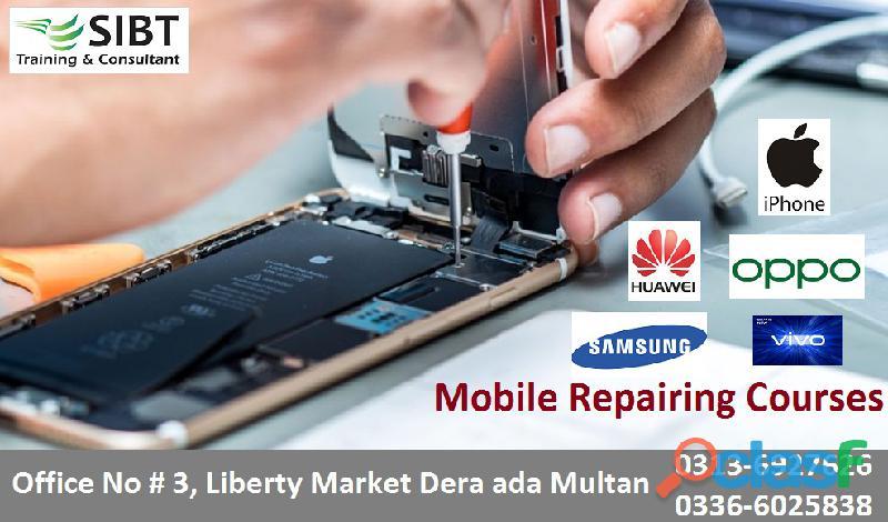 Mobile repairing courses in multan pk