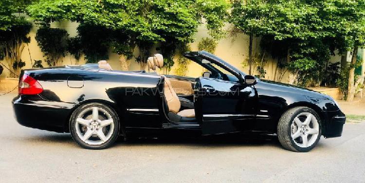 Mercedes benz clk class clk200 kompressor cabriolet 2008