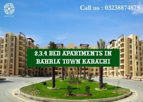 Stylish 2 bed apartments available for sale in the bahria