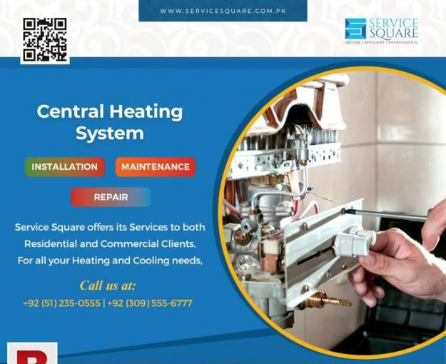 Central heating system installation maintenance repair 