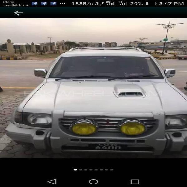 Mitsubishi pajero exceed automatic 2.8d 1996