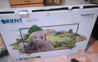 Orient 32 Inch Led TV With Free Dish And Receiver., Mardan