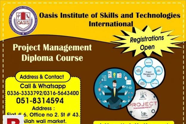 Project management diploma course for uae