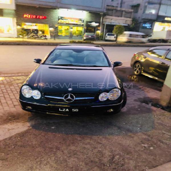 Mercedes benz clk class clk200 kompressor 2003