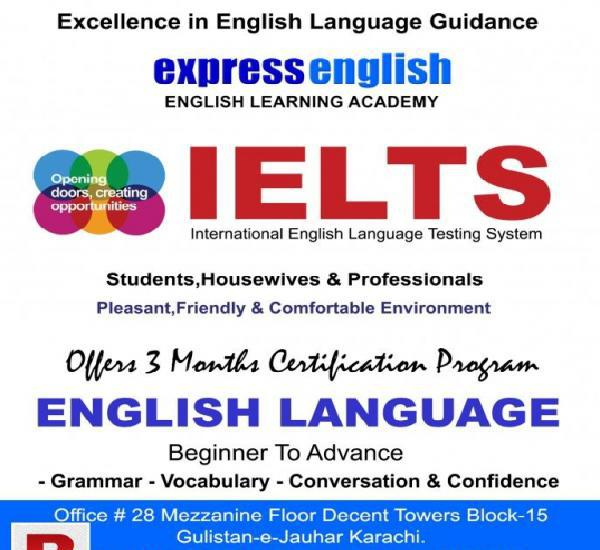 English language program & ielts preparation-express english