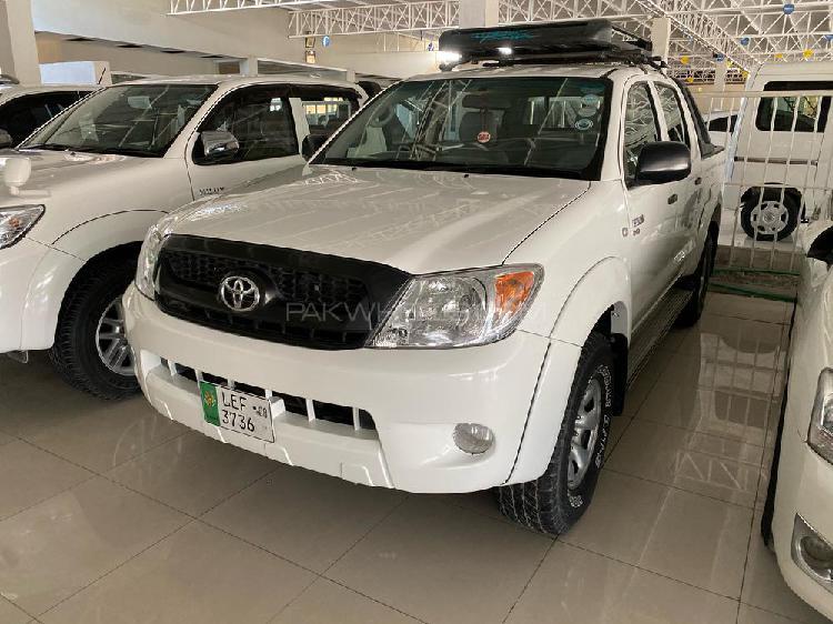 Toyota hilux 4x4 single cab standard 3.0 2008
