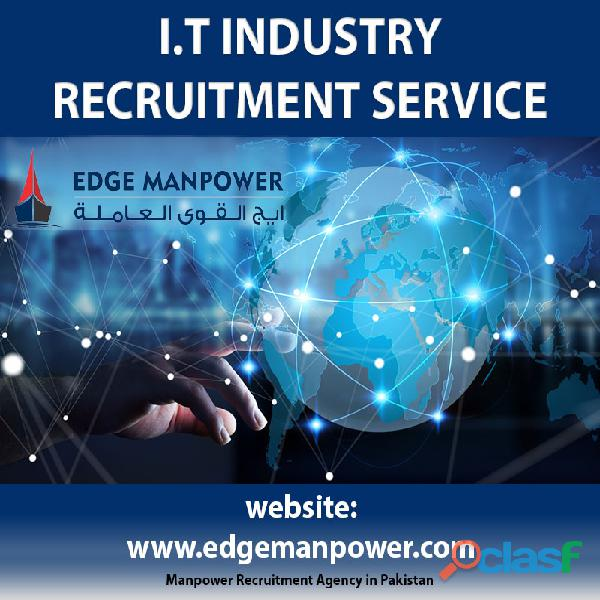 Overseas information technology industry recruitment services