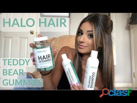 Halo Hair Vitamins Shark Tank Reviews   Ingredients, Price, Gummies & Buy