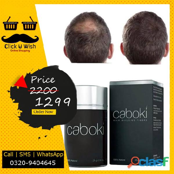 Caboki hair loss concealer building fiber   25g   black