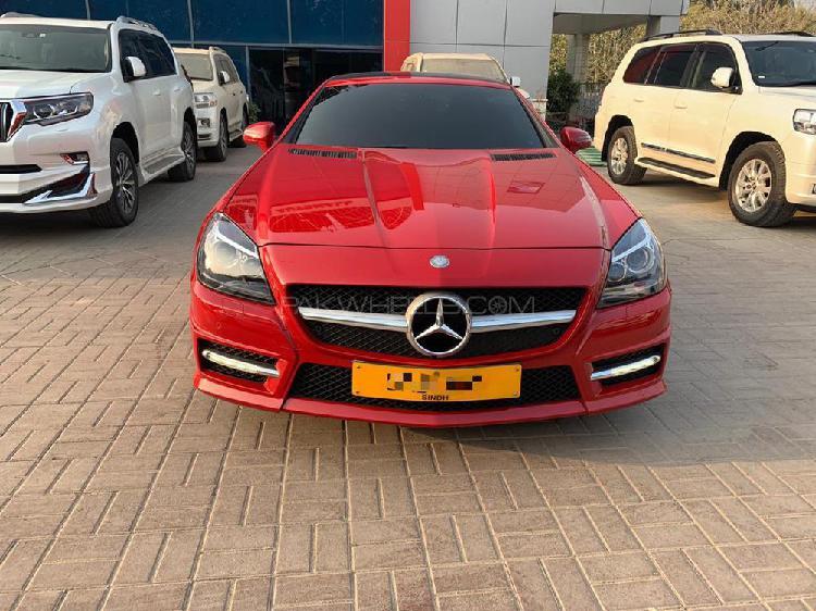Mercedes benz slk class slk200 2015