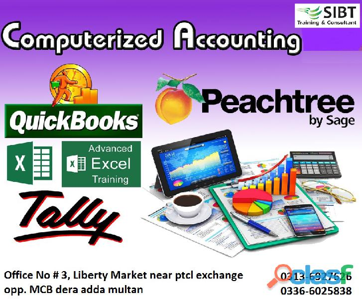 Computer accounting courses in multan