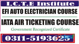 EFI Auto car Electrician (theory+practical) Course in rawalpindi islamabad chakwal gujrat 3115193625 3