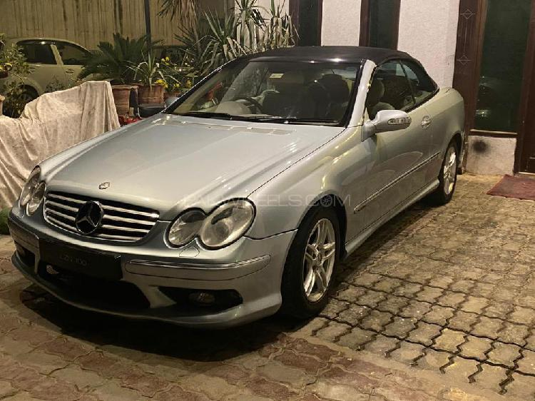 Mercedes benz clk class clk200 kompressor 2005