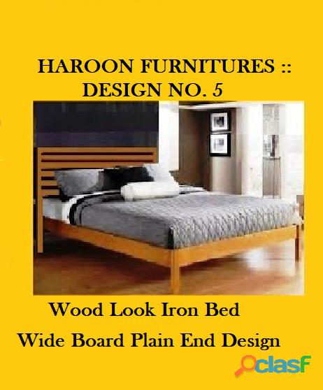 Attractive iron beds in reasonable price range.