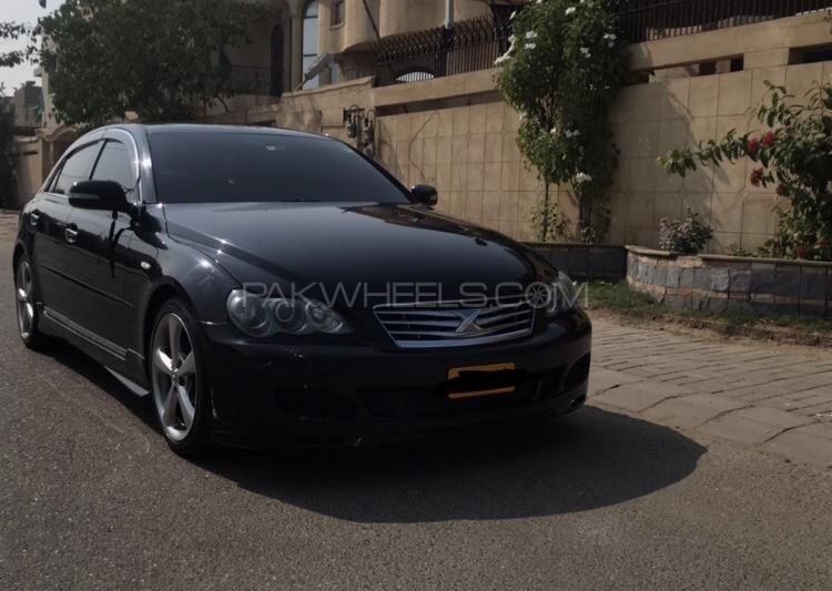 Toyota mark x 250g f package smart edition 2005