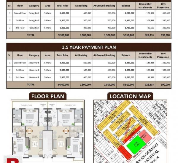 Bahria luxure home for easy instalment plan 28 lac only