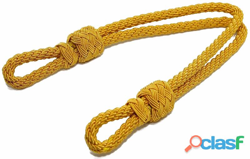 Gold bullion twisted cap cord military cap cord army cap cord