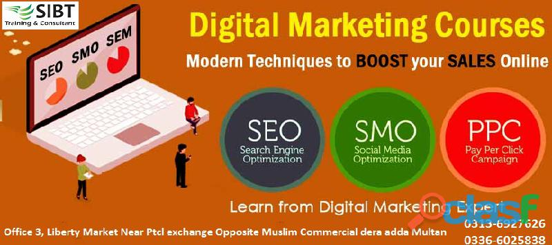 Digital Marketing Courses in multan 0