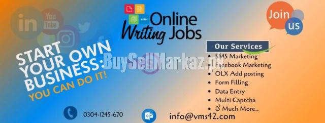 Now available home online based jobs for male and females ap
