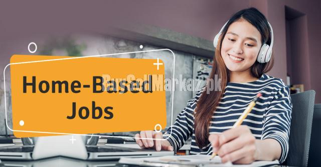 Online based job for males and females