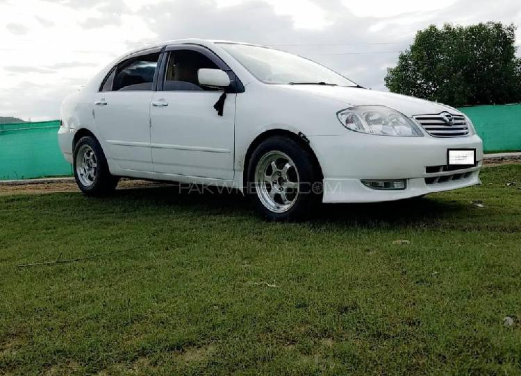 Toyota corolla g 2001