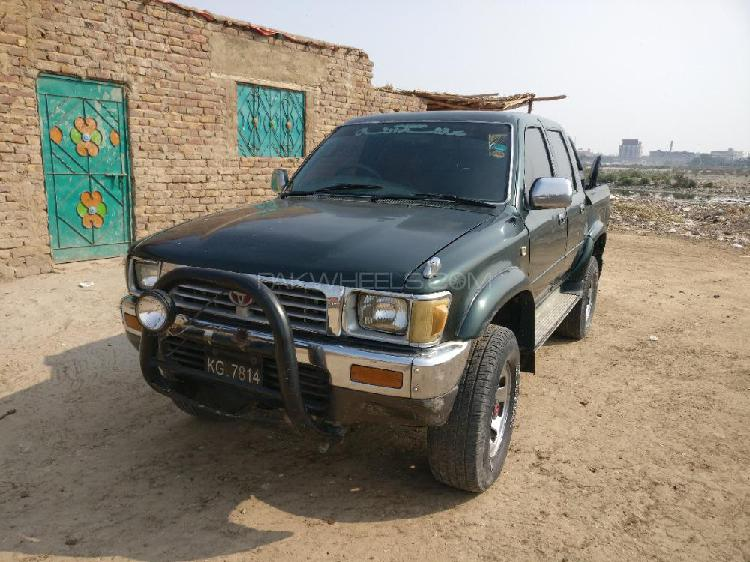 Toyota hilux double cab 1995
