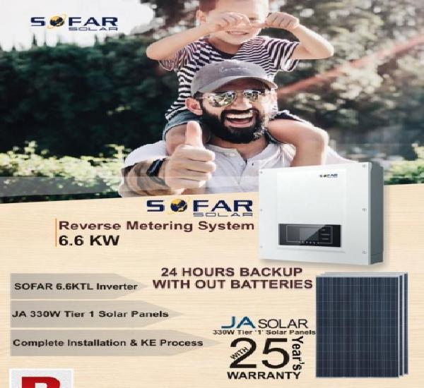 Sofar 6.6 kw grid tied solar inverter three phase (net