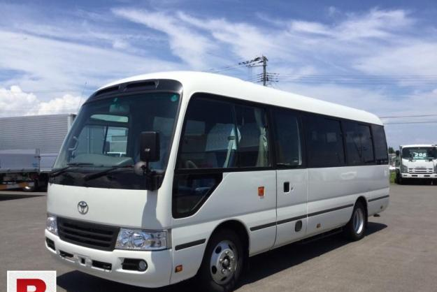Toyota coaster 30 seater f/l 2014 get on easy monthly
