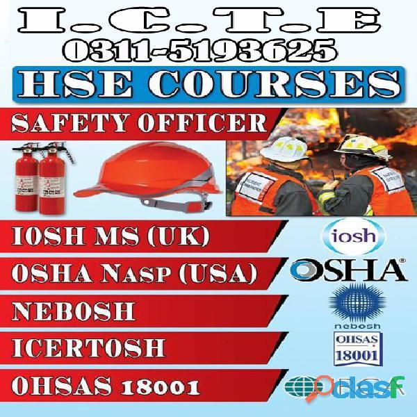 Scaffolding Inspector Course in Rawalpindi Islamabad Pakistan