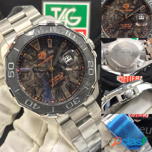 Tag heuer aquaracer calibre 5 carbon men's watch