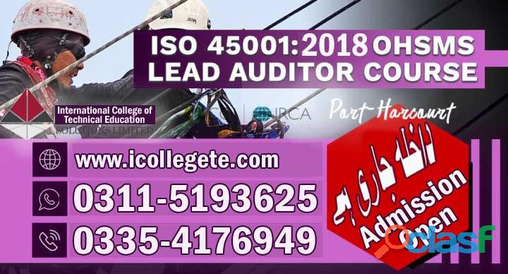 ISO Lead auditor Courses in rawalpindi 03115193625 3