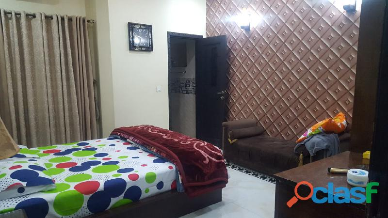 Bahria town osb block 10 marla lower portion full furnished uper lock availble