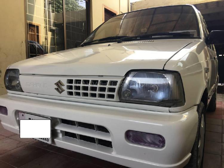 Suzuki mehran vxr euro ii 2014