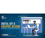 Digital art & graphic design course in lahore