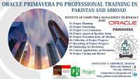 Oracle primavera p6 professional r18.8 training in pakistan,