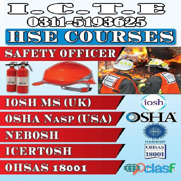 Best Iosh Level 3 Course in Pakistan