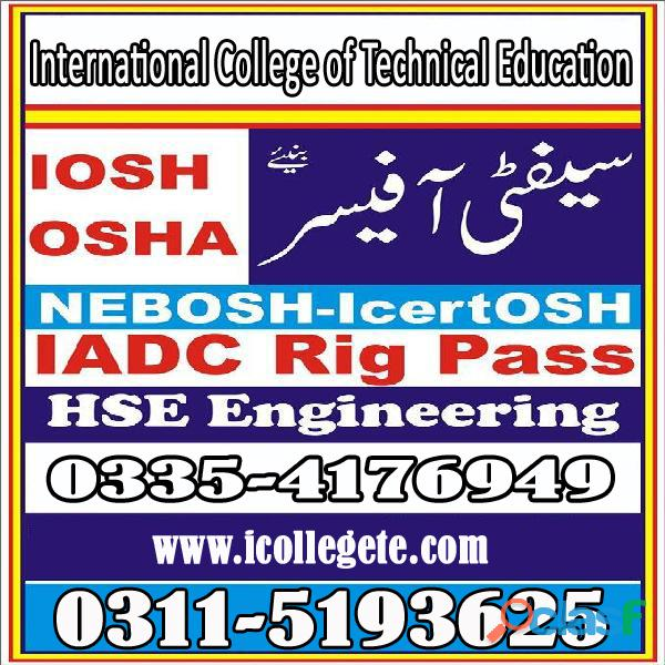 Best Iosh Level 3 Course in Pakistan 1