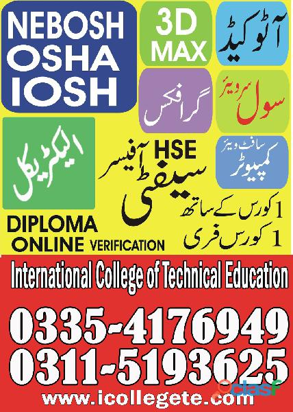 Best Iosh Level 3 Course in Pakistan 3