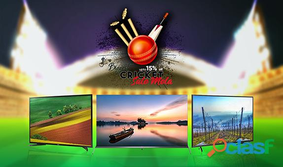 Buy Cheap LED TV from our Cricket Sale Mela!