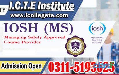 Iosh uk train the trainer professional course in rawalpindi