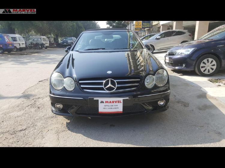 Mercedes benz clk class clk200 kompressor 2007