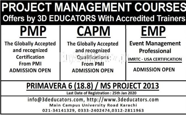 Project management professional exam preparation