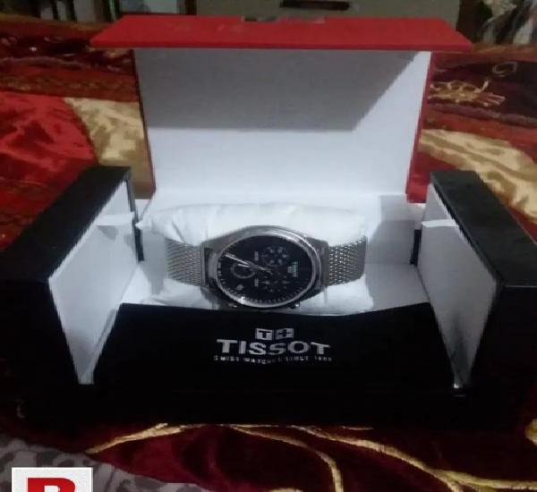 Tissot pr 100 chronograph silver 1 year international