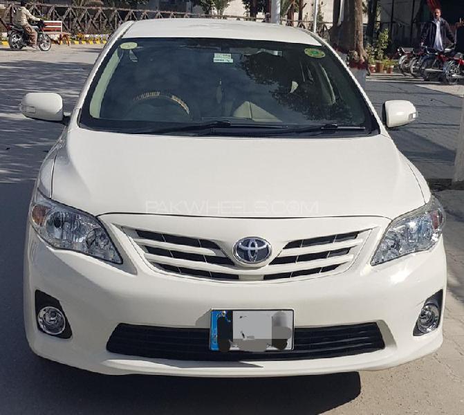 Toyota corolla xli vvti 2013