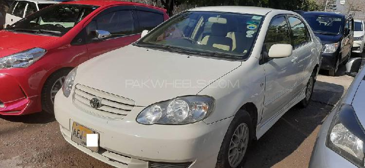 Toyota corolla se saloon automatic 2002