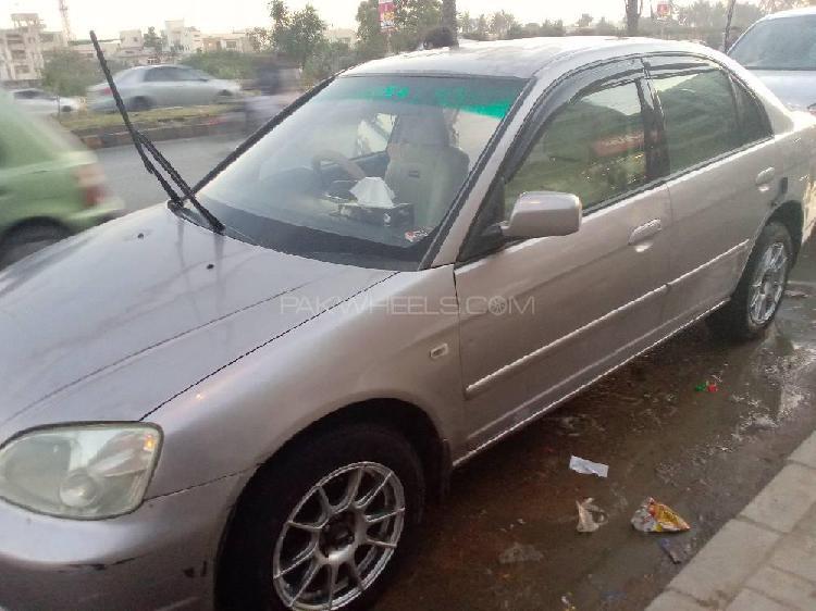 Honda civic exi 2002