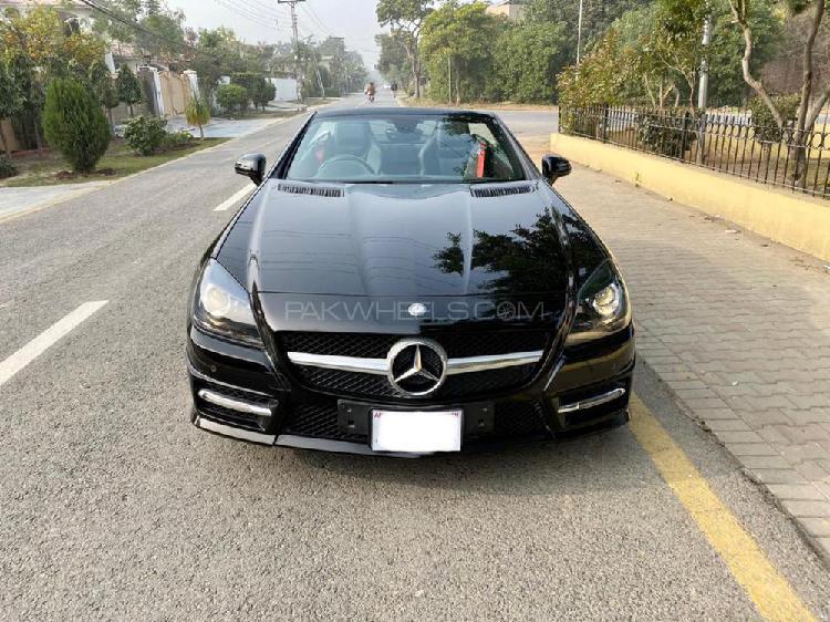 Mercedes benz slk class 2014