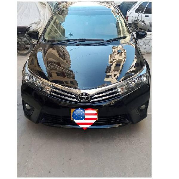 Toyota corolla altis cruisetronic 1.8 2014